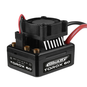 CORALLY SPEED CONTROLLER TOROX 60 BRUSHLESS 2-3S