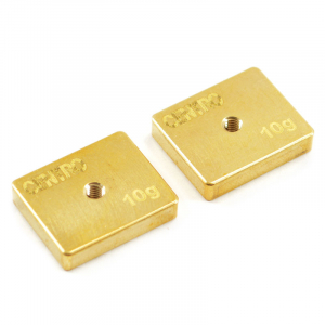 CENTRO PRECISION BRASS 10G BALANCING WEIGHTS (PR)