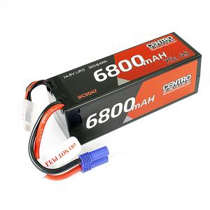 CENTRO 4S 6800MAH 14.8V 75C HARDCASE LIPO BATTERY EC5