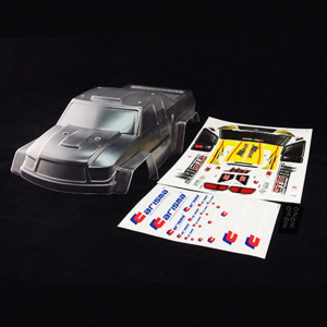 CARISMA GT16MT BODY SHELL CLEAR