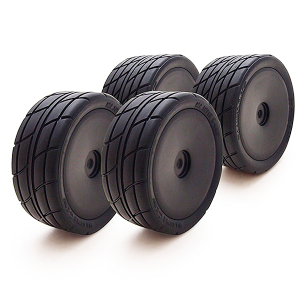 CARISMA GT14B SPORT WHEELS/ TYRES SET