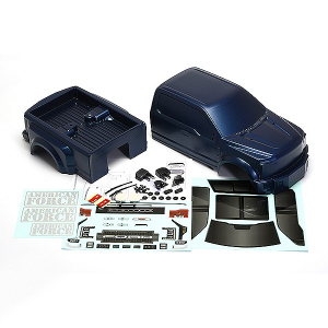 CEN RACING FORD F-450 SD COMPLETE BODY SET (BLUE GALAXY)