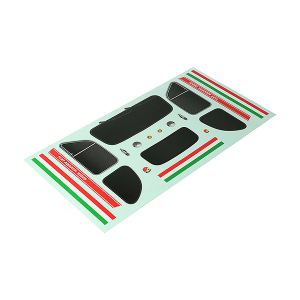 CEN RACING FIAT ABARTH 595 BODY DECAL SET