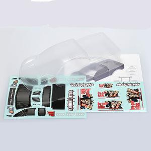 CEN RACING HY-PER LUBE 150 CLEAR BODY W/ DECAL