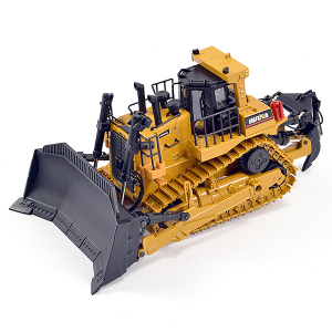 HUINA 1/50 DIECAST BULLDOZER EARTHMOVER STATIC MODEL