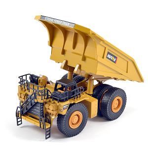 HUINA 1/40 DIECAST DUMP TRUCK STATIC MODEL