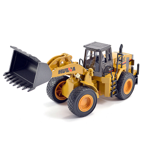 HUINA 1/40 DIECAST WHEEL LOADER STATIC MODEL