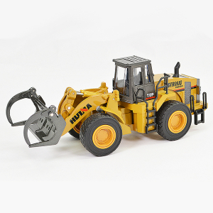 HUINA 1/40 DIECAST FORK TRUCK LOADER STATIC MODEL