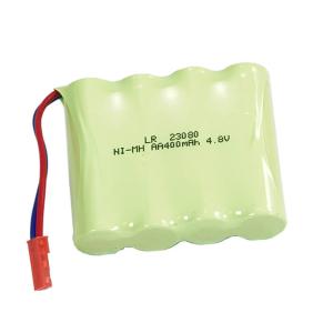 HUINA CY1331 BATTERY 4cell 400mAh 4.8V NI-MH RED JST PLUG