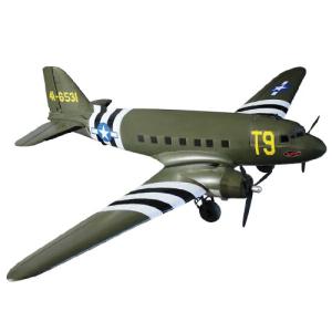 DYNAM C47 DAKOTA TWIN USAF 1470MM w/o TX/RX/BATT