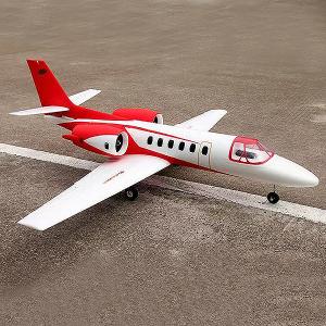 DYNAM CESSNA 550 TURBO JET RED TWIN V2 1180mm w/o TX/RX/Batt