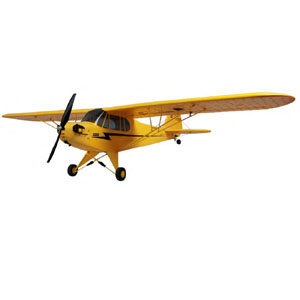 DYNAM J3 PIPER CUB 1200MM RTF w/6-AXIS GYRO w/ABS