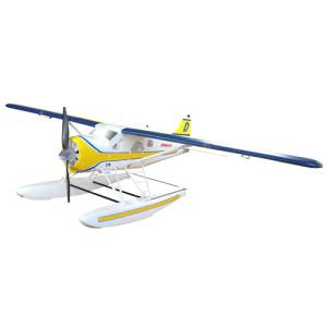 DYNAM DHC-2 BEAVER STOL YELLOW 1500mm w/o TX/RX/Batt