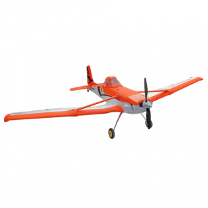DYNAM CESSNA 188 ORANGE 1500mm w/o TX/RX/Batt