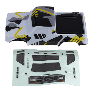 ELEMENT RC ENDURO24 SENDERO BODY (BLACK/YELLOW)
