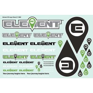 ELEMENT RC ELEMENT DECAL SHEET