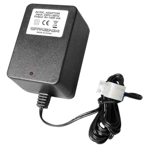 Etronix Euro Ac Wall Charger 1000Mah For 7.2V W/Tamiya Plug