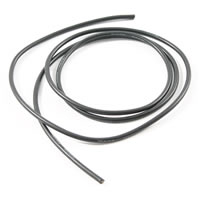 ETRONIX 12AWG SILICONE WIRE BLACK (100cm)