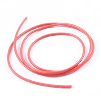 ETRONIX 14AWG SILICONE WIRE RED (100cm)