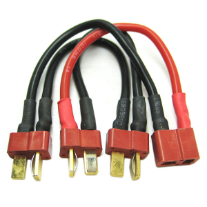 Etronix Deans 3S Battery Harness For 3 Packs In Series