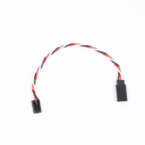 Etronix 15cm 22Awg Futaba Twisted Extension Wire
