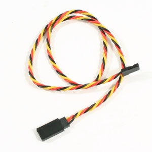 ETRONIX 45CM 22AWG JR TWISTED EXTENSION WIRE