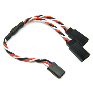 Etronix 15cm 22Awg Futaba Twisted Y Extension Wire