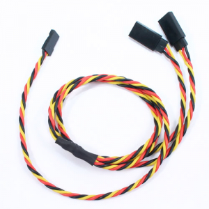 Etronix 60cm 22Awg Jr Twisted Y Extension Wire