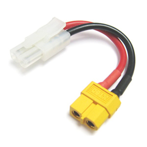 ETRONIX FEMALE XT-60 TO MALE TAMIYA CONNECTOR ADAPTOR