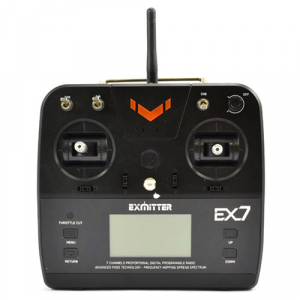 VOLANTEX EXMITTER 7-CHANNEL RADIO w/LCD SCREEN