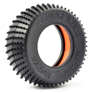 FASTRAX 1/10 KOURSE KING SHORT COURSE TYRE - MED COMPOUND