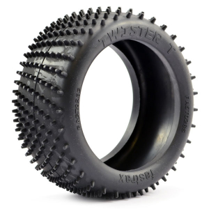 FASTRAX 1/8 TWISTER-T TRUGGY SPIKE VTR TYRE - SOFT COMPOUND