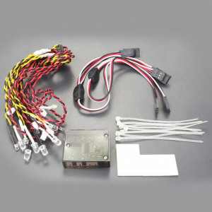 FASTRAX FLASHING LIGHT KIT MULTIPLE FUNCTIONS 12LED LIGHT