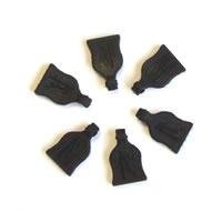 Fastrax Body Pin/Clip Rubber Pull Tabs (6)
