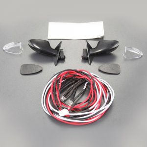 FASTRAX WING MIRROR SET w/LED