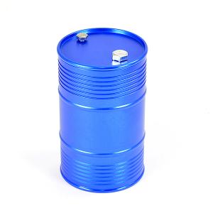FASTRAX ALUMINIUM ANODISED OIL DRUM W/REMOVABLE LID - BLUE