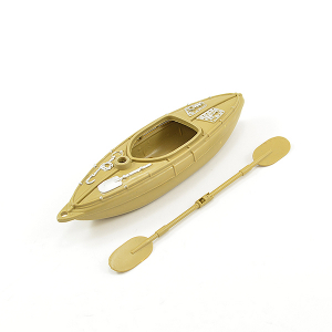 FASTRAX 1/18TH SCALE MOULDED KAYAK & OARS 15cm X 4.2cm