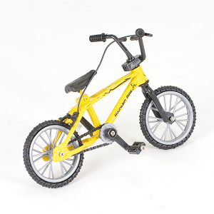 FASTRAX STATIC BMX BIKE 11X8cm - YELLOW