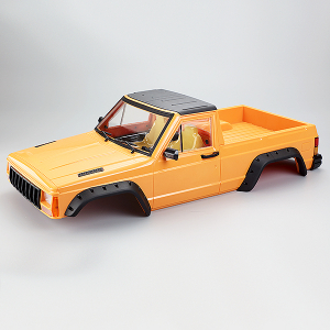 FASTRAX 1/10 ROCKEE PICK-UP & INTERIOR HARD BODY 313mm - Orange