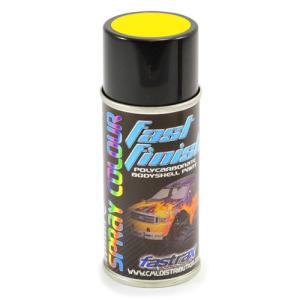 Fastrax Fast Finish Yellow Glow Spray Paint 150ML