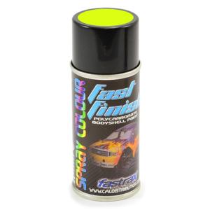 Fastrax Fast Finish Cosmic Glo Yellow Spray Paint 150ML