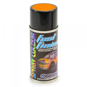 Fastrax Fast Finish Cosmic Glo Orange Spray Paint 150ML