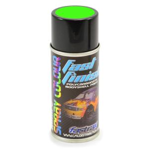 Fastrax Fast Finish Cosmic Glo Green Spray Paint 150ML
