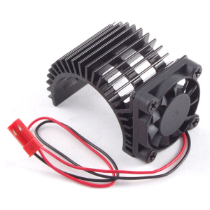 Fastrax Aluminium Motor Heatsink Fan Unit (Fan On Side)