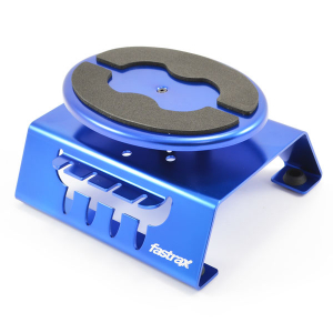 Fastrax Blue Alum Locking Rotating Car Maintenance Stand W/Magnet