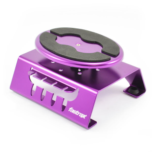 Fastrax Purple Alum Locking Rotating Car Maintenance Stand W/Magnet
