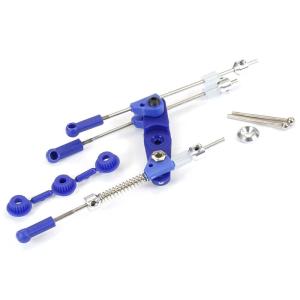 Fastrax Pre-Assembled Throttle/Brake Linkage Set Blue
