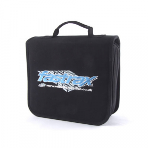 Fastrax Mega Tool Carry Bag 40 Slots, Zip Slot, 2 Layers