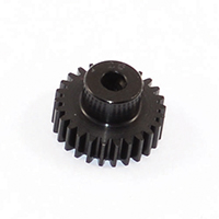Fastrax 'Pro' Black Aluminium Pinion 35T