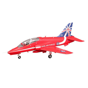 FMS 1042MM RED BAE HAWK 80MM EDF ARF REFLEX w/o TX/RX/BATT
